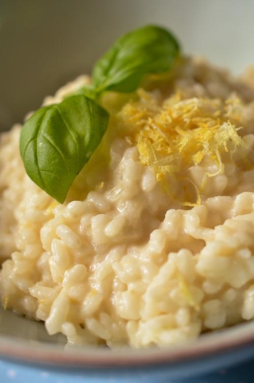 Rezept für Zitronenrisotto mit Macarpone - Bild 6