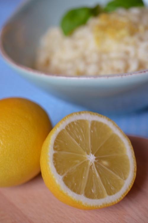 Rezept für Zitronenrisotto mit Macarpone - Bild 8