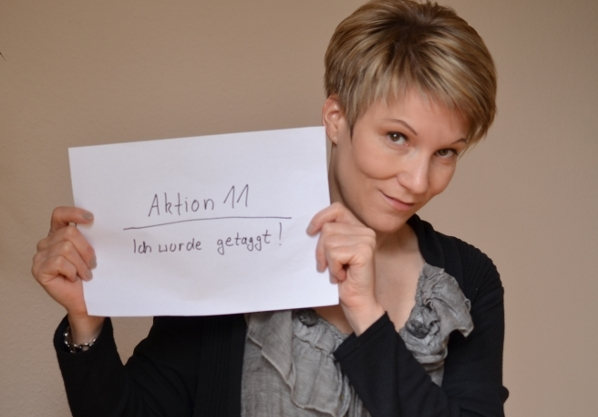 Aktion 11 - mein erster Blog-Award