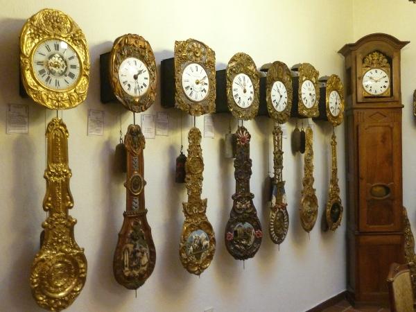 Das Comtoise-Uhren-Museum in Düsseldorf