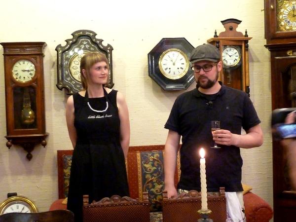 Magic Garden Supper-Club: Begrüßung durch Mari und Thomas