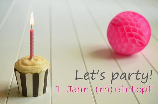 (rh)eintopf feiert ersten Bloggeburtstag! (mit Verlosung)