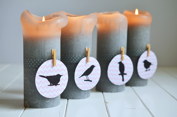 Adventskranz-Upcycling