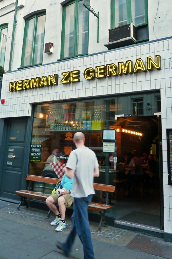 Herman ze German - Städtetrip nach London