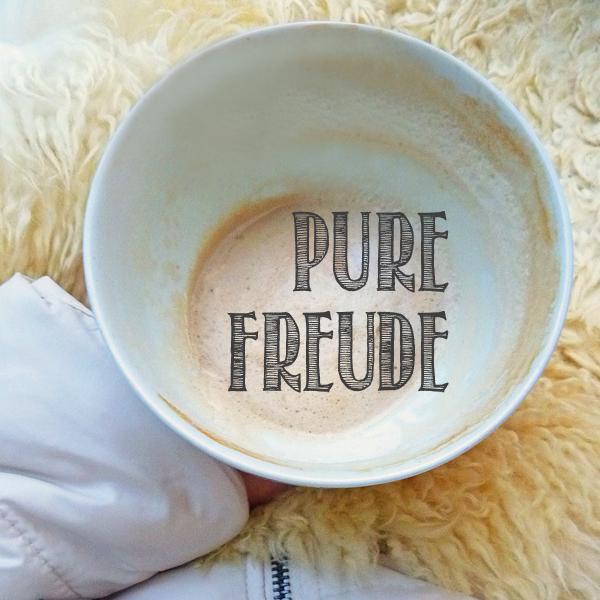 Pure Freude: Kaffeeklatsch unter freiem Himmel