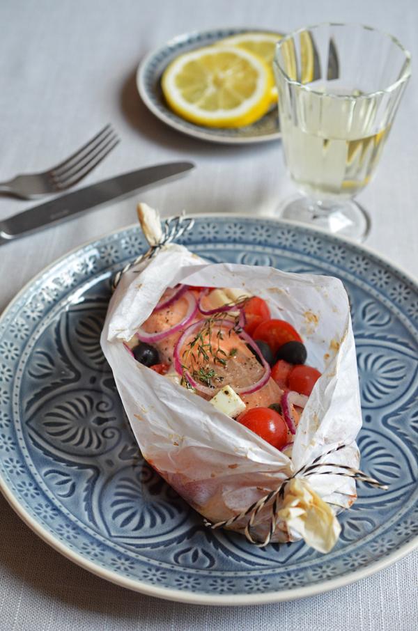 Fisch im Ofen: Dank Pergament-PPäckchen geht's ganz einfach!