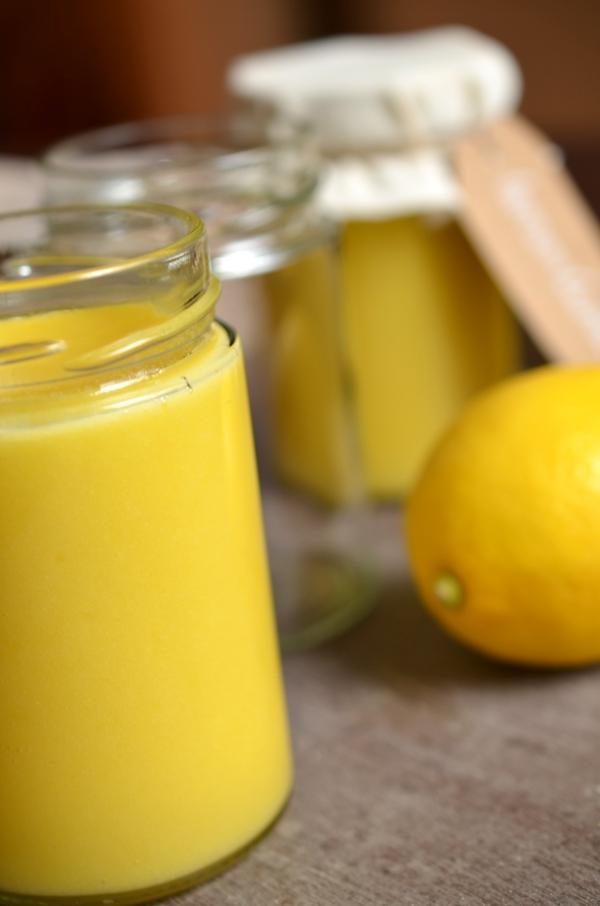 Lemon Curd - Typisch englischer Brotaufstrich aus Zitronen