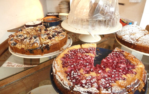 Johannisbeer-Torte im Café Hüftgold