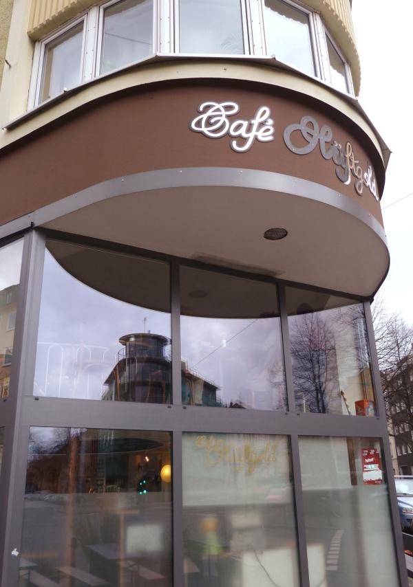 Ausgehtipp: Café Hüftgold in Düsseldorf Flingern von außen