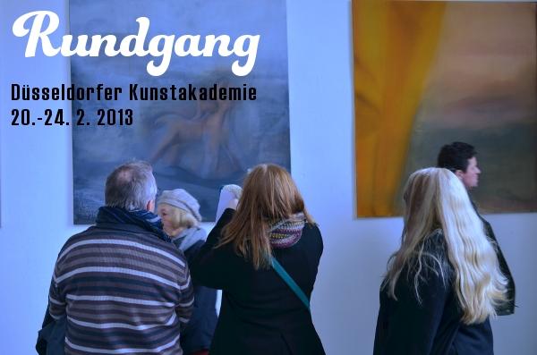 Rundgang in der Düsseldorfer Kunstakademie