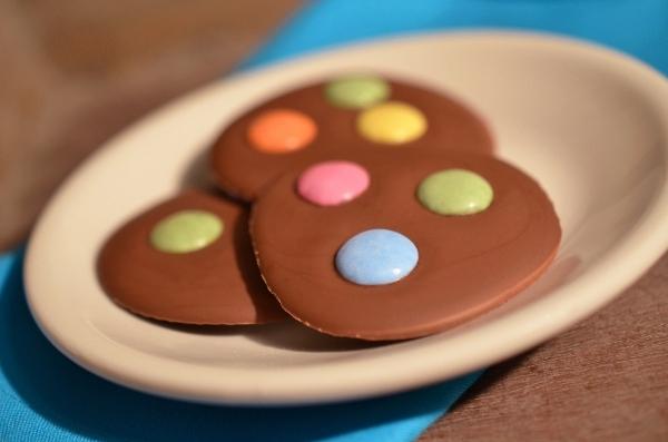 Süßes zu Karneval: Rezept für Schoko-Konfetti_Taler
