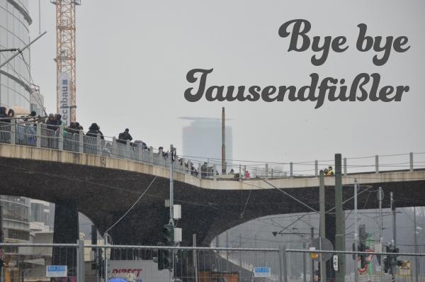 Düsseldorf: Bye bye Tausendfüßler