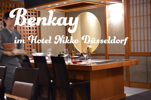 Das japanische Restaurant im Hotel Nikko Düsseldorf