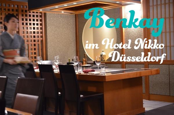 Das japanische Restaurant Benkay im Hotel Nikko Düsseldorf