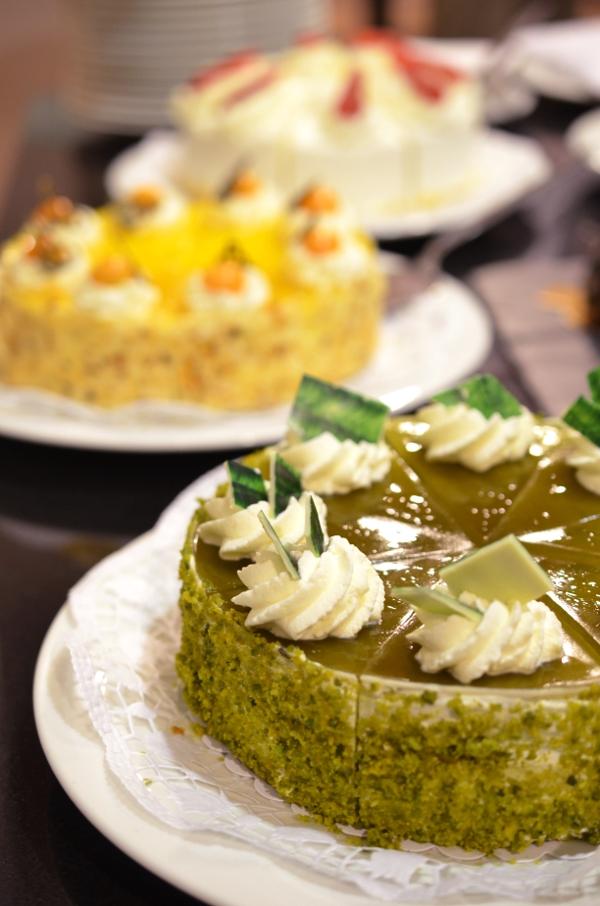 Torten aus der Pâtiisserie des Hootel Nikko Düsseldorf