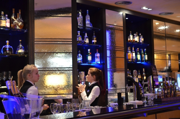 Bar im Hotel Nikko Düsseldorf