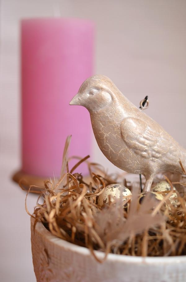 DIY: Schnelle Frühlingsdeko mit Vogelnest 4