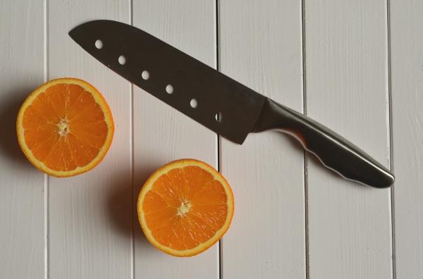 aufgeschnittene Orangen