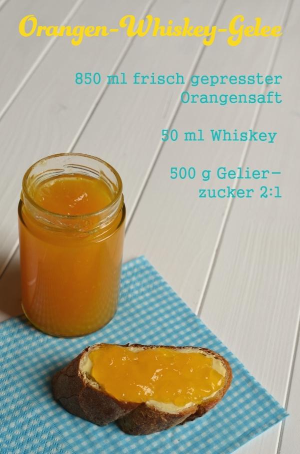 Rezept für Orangen-Whiskey-Gelee