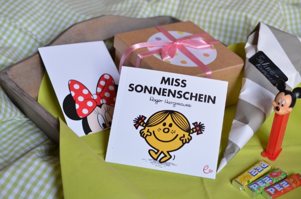 Post aus meiner Küche: Kindheitserinnerungen - mein Tauschpaket von Mina