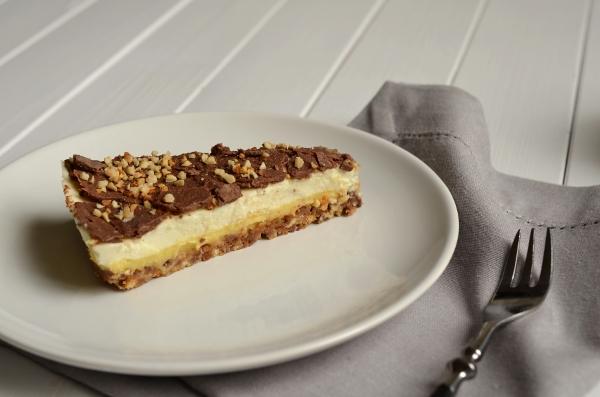 Mandel-Krokant-Torte mit Daim