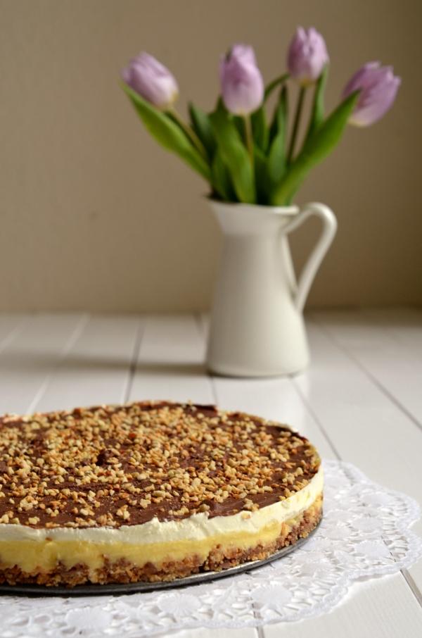 Mandel-Krokant-Torte fertig