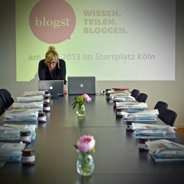 Bloggerworkshop blogst in Köln - Juli von HeimatPOTTential erwartet uns