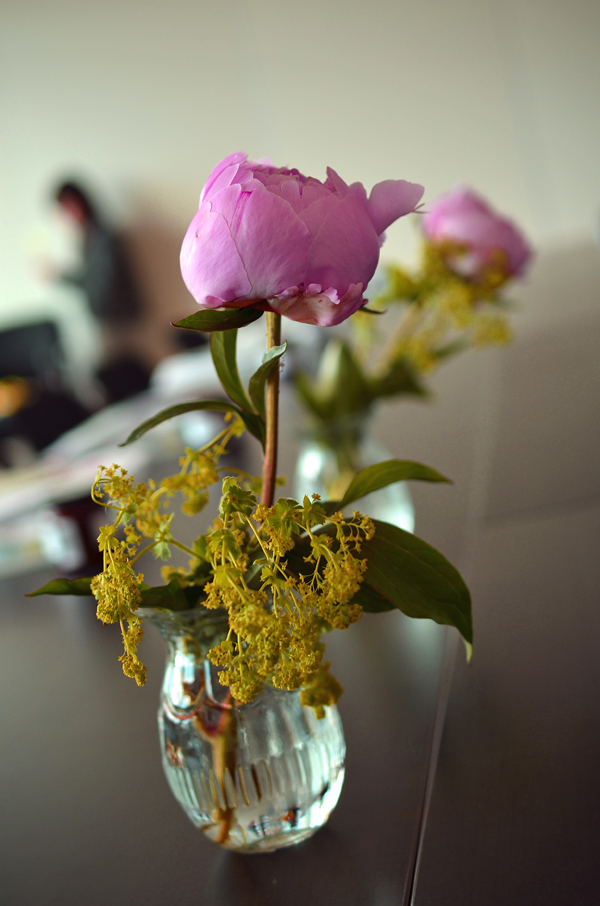Bloggerworkshop blogst in Köln: Vase mit Blumen