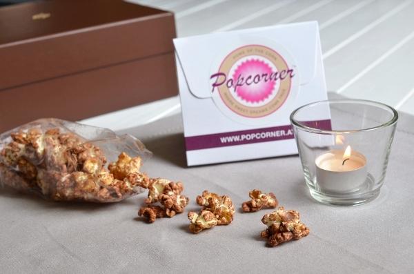 Schoko-Popcorn aus der Schokostück-Box