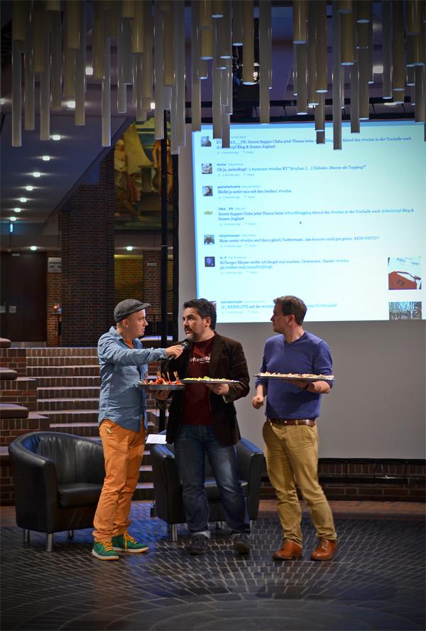 Orhan vom Blog Koch dich Türkisch beim 6. Düsseldorfer Twittwoch