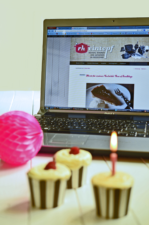 Bloggeburtstag: 1 Jahr (rheintopf)