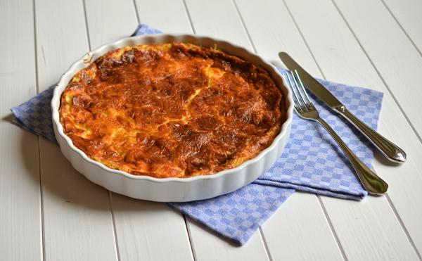 Rezept für Quiche Lorraine - die Mutter aller Quiches