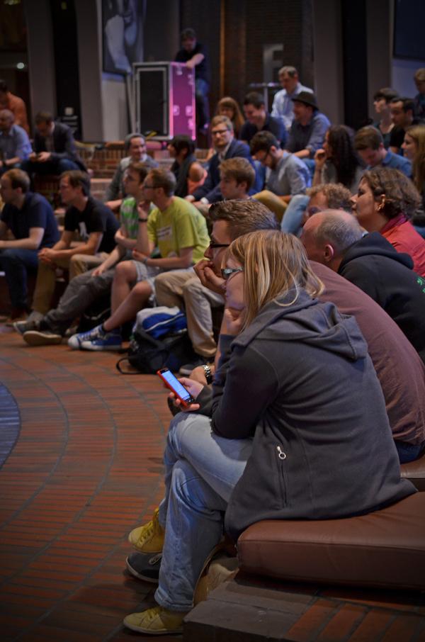Publikum beim 6. Düsseldorfer Twittwoch