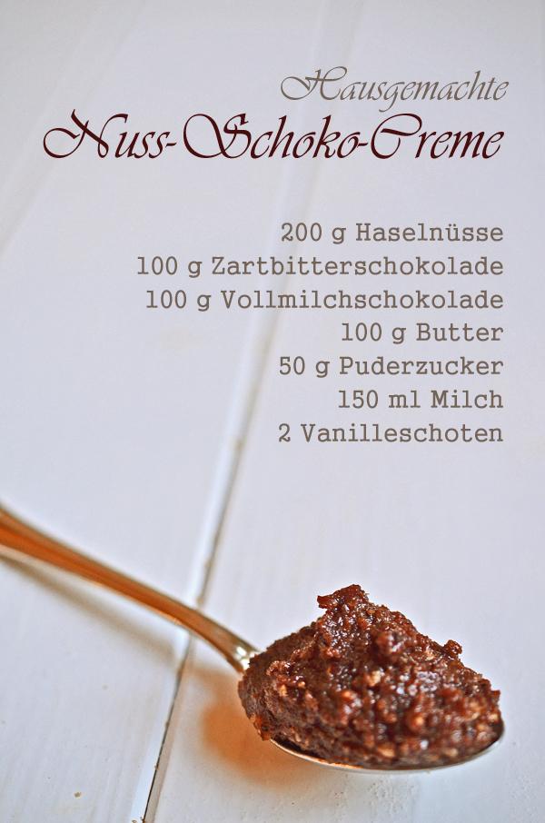 Rezept für selbstgemachte Nuss-Schokoladencreme (viel leckerer als Nutella oder Nusspli!)