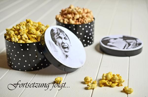 Selbstgemachtes Popcorn in zwei Varianten: süß mit Zimt und Zucker, herzhaft mit Salz und Curry