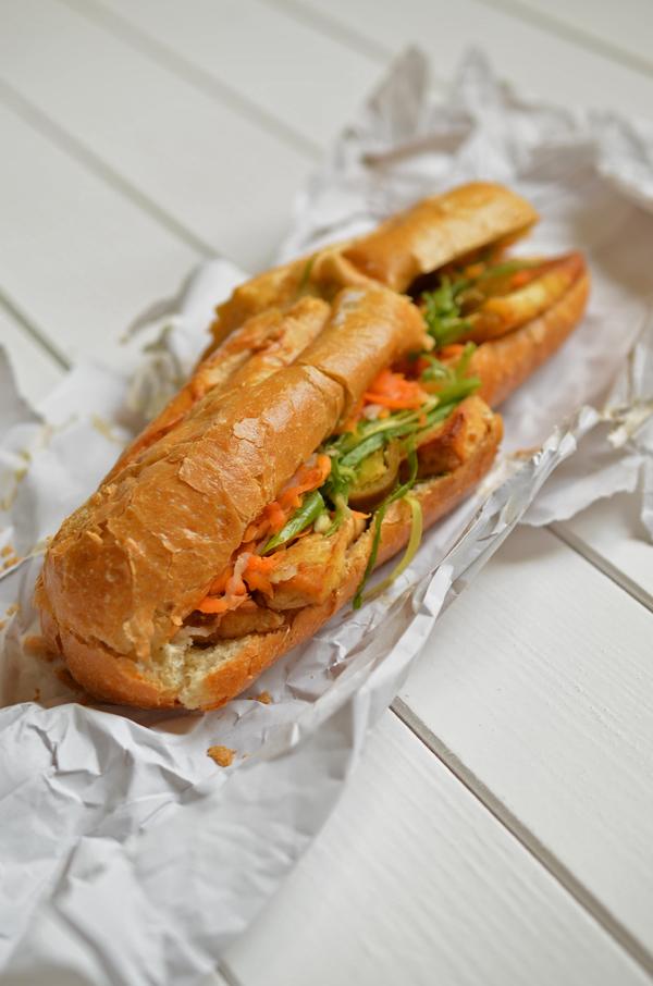 Vietnamesisches Sandwich im An Banh Mi in Düsseldorf-Flingern
