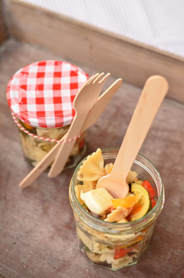 Erdbeermuffins aus Barbaras Picknick-Paket für Post aus meiner Küche