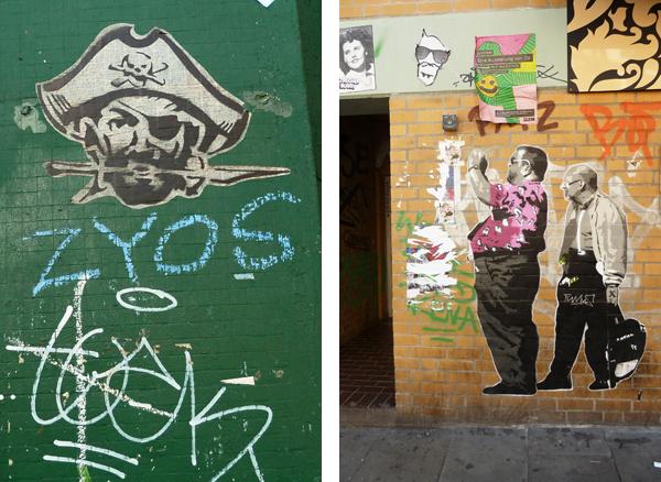 Streetart in Hamburg: Grafitti in der Schanze