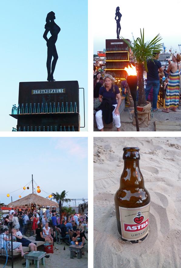 Strandpauli, der Beachclub in St. Pauli (Hamburg)