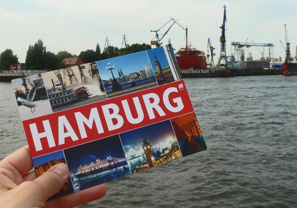 Stäfteurlaub in Hamburg - im Hafen an der Elbe