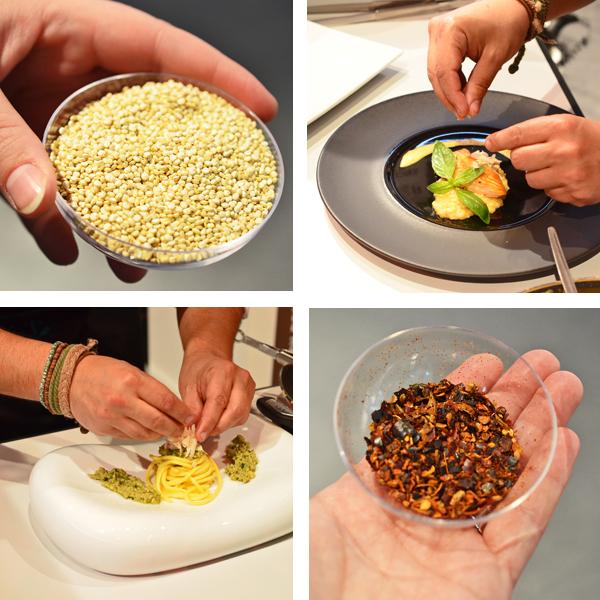Quinoa und Merquén - typisch chilenische Zutaten auf der Anuga 2013