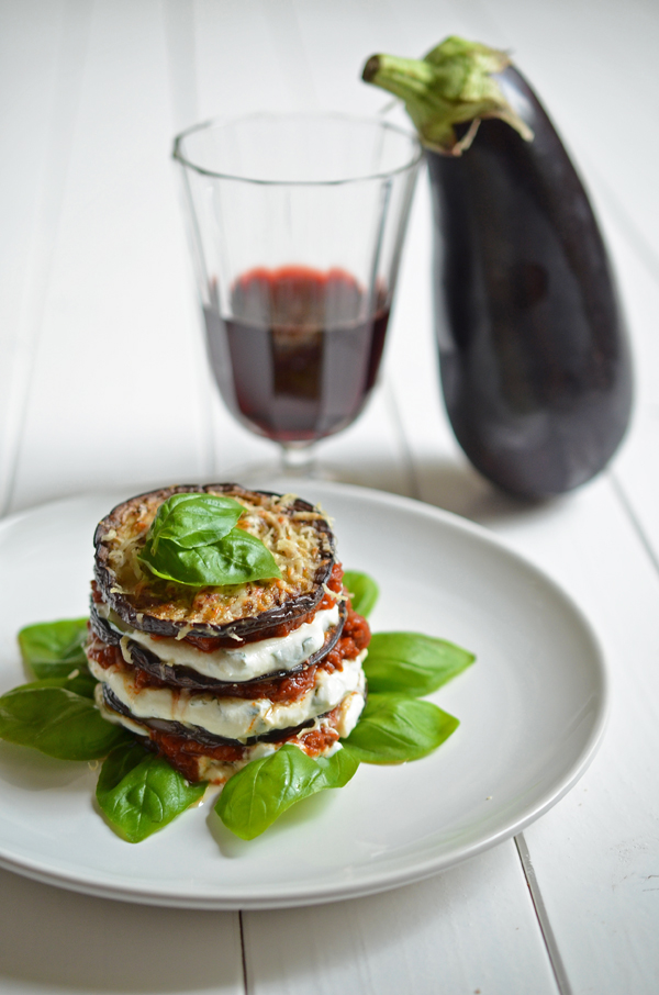 Soulfood: Auberginen-Lasagne ohne Nudelteig