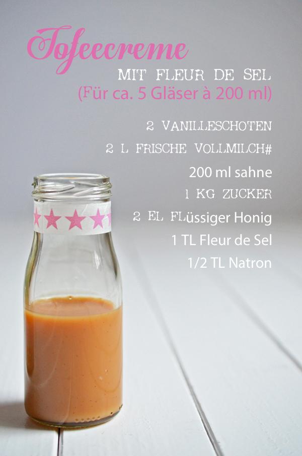 Rezept für selbstgemachte Toffeesauce mit Fleur de Sel