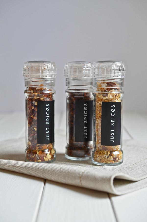 Gewürzmühlen von Just Spices