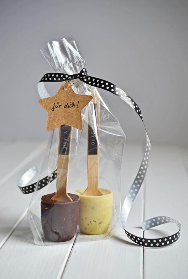 Geschenk aus der Küche: Selbstgemachte Trinkschokolade mit ...