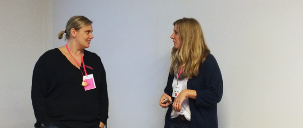 BLOGST Barcamp 2014 - Clara und Ricarda