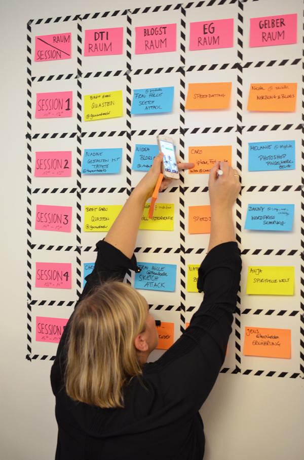 BLOGST Barcamp 2014 - Last Minute Änderungen