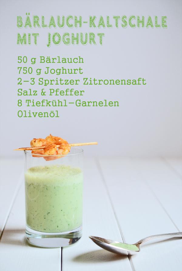 Rezept für Bärlauch-Kaltschale