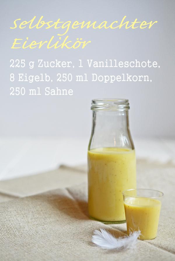 Rezept für Eierlikör (selbstgemacht)
