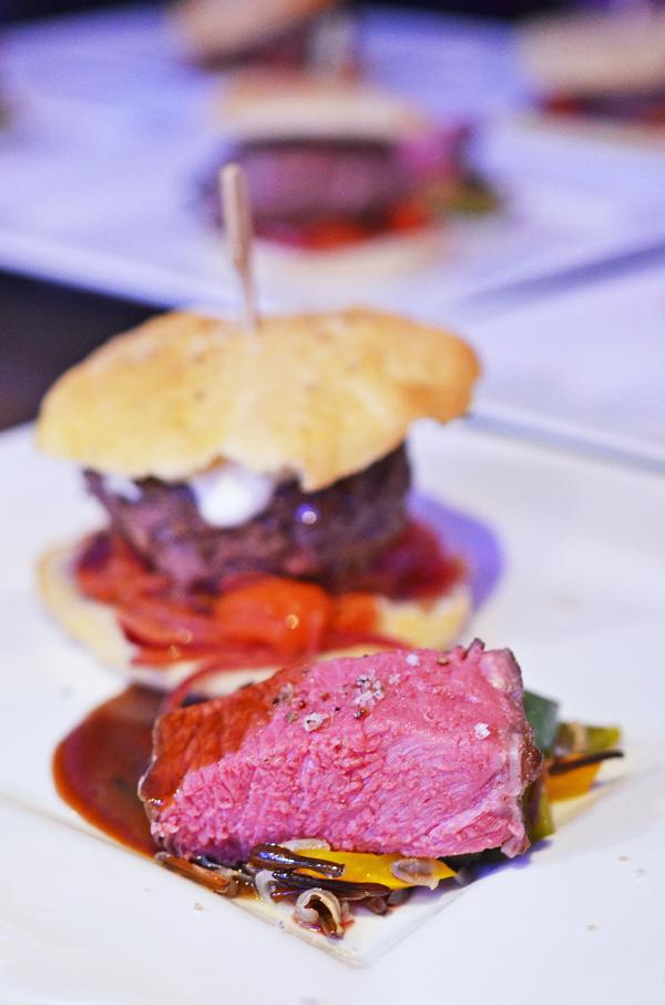 Bison-Burger vs. Rib-Eye Steak